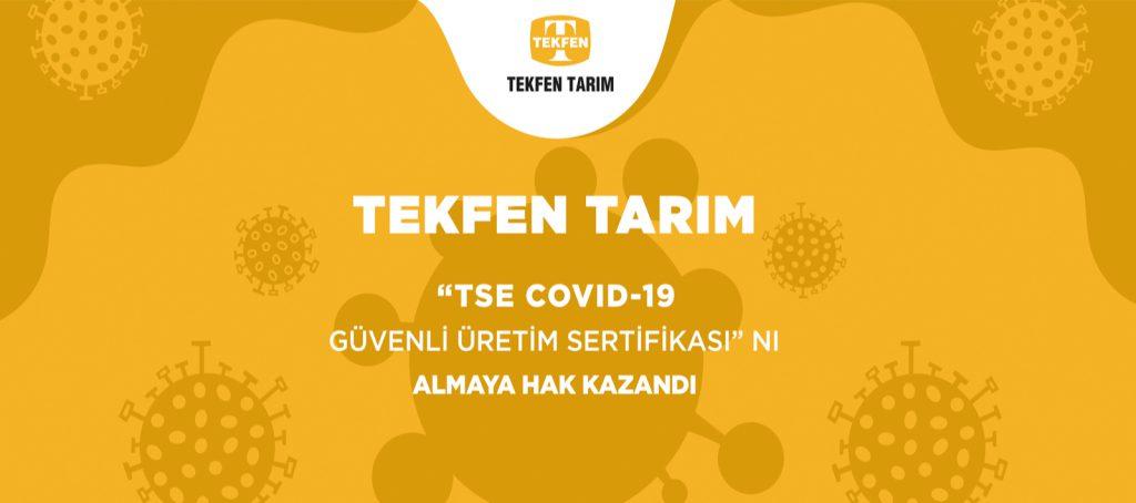 Tekfen Agri Covid-19 Measures