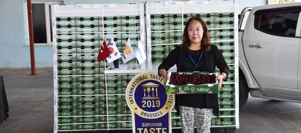 Tekfen Tarım, Çin'den sonra Güney Kore pazarına da Türk kirazını sokmayı başardı.