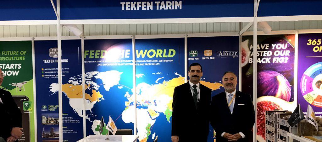 Tekfen Agriculture is in Baku for World Food Azerbaijan Fair