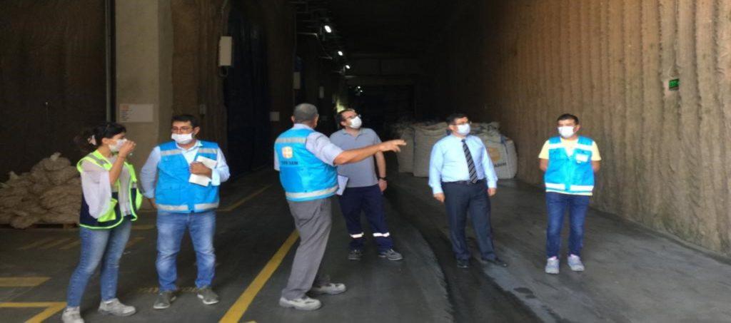 Tekfen Tarım's Nevşehir Underground Storage Facility awarded TSE COVID-19 Safe Production Certificate