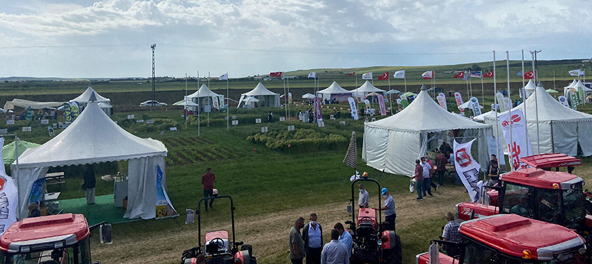 Tekfen Agri introduced its wheat varieties, the new favorites of farmers, in Field Days Fair